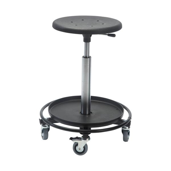 taburett hjul ~ taburet 480rs, sigma, 1 bakke (høj) 75 mm hjul